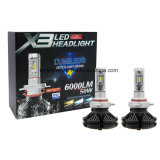 2017 Dernières Automobiles X3 9005 Hb3 LED Headlight Kit 50W 6000lm LED Head Light 6500k LED Auto Lamp