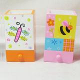 キャブレターMDFの子供のための昆虫デザインの木の筆箱