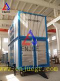 Containerisiertes Wiegen und Beutel-Füllmaschine mit Schutt-Gummireifen