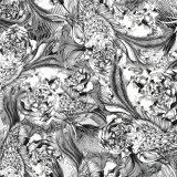 Tessuto di seta della tessile della stampa di Digitahi (TLD-0113)