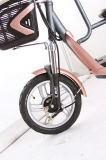 Bici eléctrica de la ayuda del pedal con la batería de litio de plomo del asiento del niño