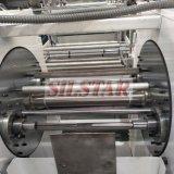 Automatisches Doppeltes faltet den Beutel, der Maschine herstellt