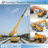 クレーンが付いている金製造の中国によって使用される油圧ブームの移動式トラック販売のための10トン