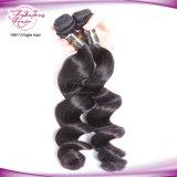Prolonge malaisienne de cheveux humains de Vierge de première onde desserrée de pente