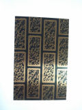 Plaque à plaques en acier inoxydable plaqué en cuivre avec matériau de construction