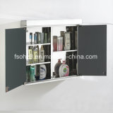 7002 нов введите шкаф в моду зеркала двойной двери нержавеющей стали ванной комнаты