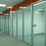 Blindes Büro, das Systems-Glaswand-Partitionen für Büro Aufteilung ist