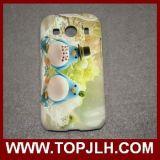 3D Geval van de Telefoon van de Sublimatie Lege Plastic voor Aas 4 van de Melkweg van Samsung