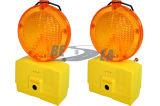 Luz de advertência da barricada da bateria barata do diodo emissor de luz do preço