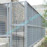 Haoyuanは鋼鉄耳障りな塀のパネルを溶接した