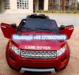 Игрушка корабля электрического автомобиля красного цвета вина Land Rover