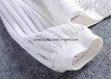 Cappotto bianco del `S delle donne del Gridding breve