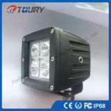 極度の明るいLED車の照明20Wスポットライト自動LEDの働くライト