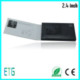 Приветствие Samll LCD 2.4 дюймов и визитная карточка