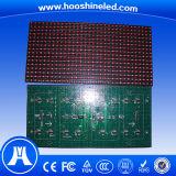 Buena visualización de LED del color rojo de la uniformidad P10 DIP546 al aire libre para el coche
