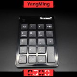 Tastiera senza fili dedicata senza fili Ym-Kd01 della tastiera numerica del USB della tastiera numerica 2.4G del mini sistema del Baccarat