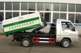 Mini carro de basura del rodillo del brazo de 3 M3 Foton 3 toneladas de gancho de leva del brazo de carro de la basura