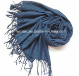 Elegante Duidelijke Kleur Acryl/Stole /Shawl/Sjaal van de Viscose (HWBVS76)