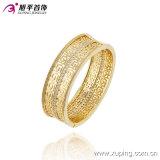 Brazalete plateado oro ancho elegante de la joyería de 51407 maneras con Zircon