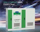 Régulateur de tension intelligent triphasé de réglage de série plus vendue de SBW-Z