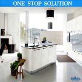 現代光沢度の高い終わりの組み立てユニット家具の台所