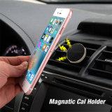 Suporte do telefone de pilha magnética do suporte do telefone do respiradouro do carro