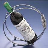 Solo sostenedor del vino del espiral de la botella - bronce