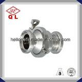 Válvula de verificação fêmea do balanço do aço inoxidável