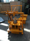 Mini beweglicher manueller hohler Block, der Maschine mit niedriger Preis-Ei-Schicht-Block-Maschine Qt40-3c herstellt