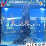 Бак рыб половинного цилиндра акриловый