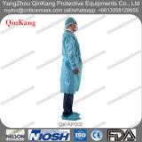 Robe chirurgicale d'hôpital/tablier non tissés remplaçables