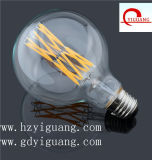 Der Milch-weißes Kugel-LED Schrauben-Haushalts-Energieeinsparung-Licht Heizfaden-der Birnen-85V-265V E27