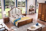 Novo mobiliário de madeira sólida de design Mobiliário de quarto de estilo country americano (AD812)