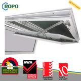 Верхний цвет высоко Анти--UV двойное застекленное Windows качества UPVC белый