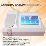 Analyseur semi automatique de biochimie avec la bonne qualité Mslba06plus
