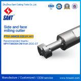 Cara indexable de la máquina herramienta CNC y fresa PT01.06W25.025.01 de cara. H11/Tmp01-025-XP25-MP06-01 para la pieza inserta Mpht