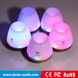 O melhor altofalante de venda de Bluetooth com música do cartão do SD da sustentação da luz do diodo emissor de luz