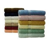 Serviette de toilette 100% coton en coton et teint en couleur