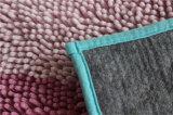 Alfombra de lujo de las mantas del cuarto de baño de Microfiber de la máquina de baño del Chenille lavable de la estera