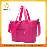 Saco de ombro cor-de-rosa Multifunction da mamã com volume grande da capacidade