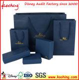 Kundengerechte Einkaufstasche mit Silk Zeichenkette-Griff ISO9001: 2015