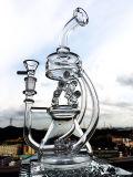 تصميم جديدة 12 بوصة إرتفاع مصغّرة [بورتبل] [رسكلر] [وتر بيب] زجاجيّة