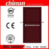 Porta de incêndio de 2 horas com porta de incêndio com porta de fogo com BS 476-22: 1987 e certificado Ce