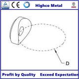 Edelstahl-runde Glasschelle für Handlauf-System