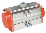 Azionatore pneumatico - le elettrovalvole a solenoide possono essere montate facilmente senza plancia connettente