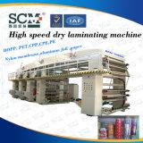 Macchina di laminazione di carta dell'animale domestico del di alluminio del PVC dei CLORURI DI POLIVINILIDENE