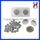 Botão magnético do revestimento do zinco do PVC