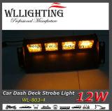 Indicatore luminoso d'avvertimento del veicolo Emergency della piattaforma del precipitare dei 12 LED