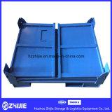 Autoteil-zusammenklappbarer Stahlumsatz-Kasten für Verkauf