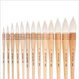 Щетка картины искусствоа ручки волос шерстей деревянная
